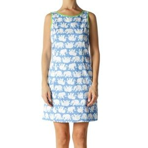 Lilly Pulitzer elephant Tusk in Sun Delia shift